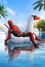 Deadpool 2, piscine iPhone fonds d'écran
