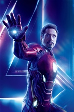 Iron Man, Avengers: Guerre de l'infini iPhone fonds d'écran