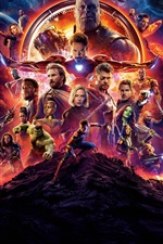Superheroes, Avengers: Infinity War iPhone fonds d'écran